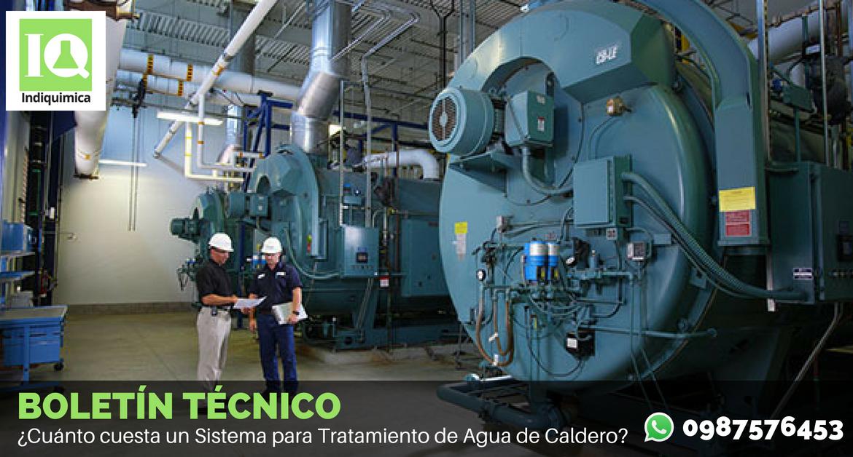 ¿Cuánto cuesta un Sistema para Tratamiento de Agua de Caldero?