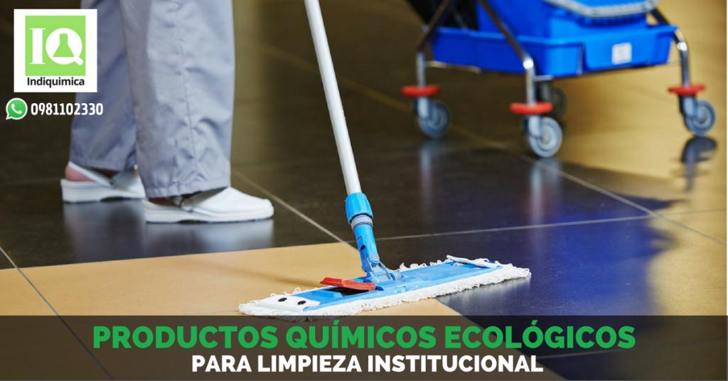 Productos Químicos para Limpieza Institucional