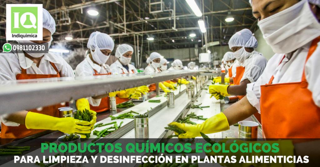 Productos Químicos para Limpieza y Desinfección en Plantas Alimenticias